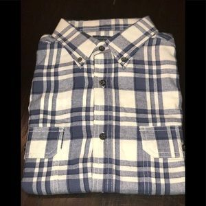 Faded Glory Men's Long Sleeve plaid button down